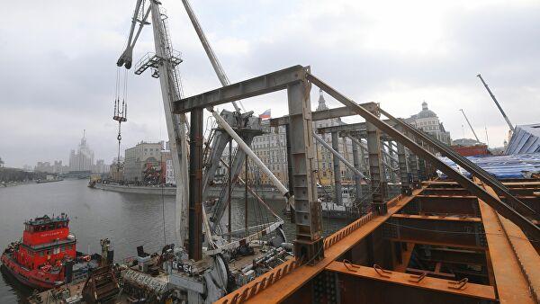 Ремонт Большого Москворецкого моста планируют завершить 20 декабря