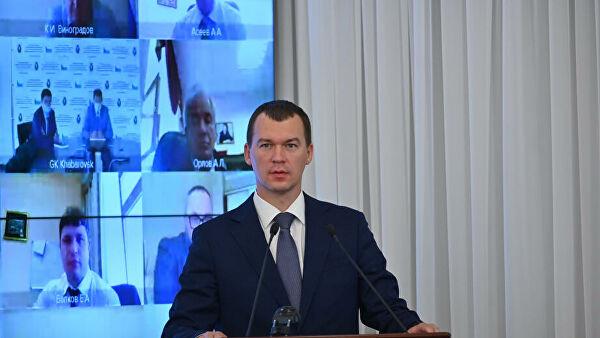 Дегтярев заявил, что на квартиру в Хабаровске ему придется брать ипотеку